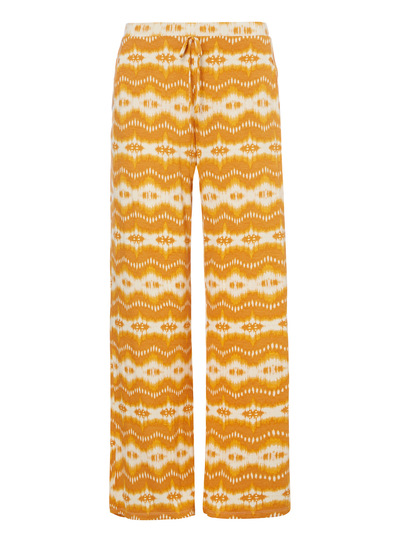 Yellow Ikat Pyjama Bottoms