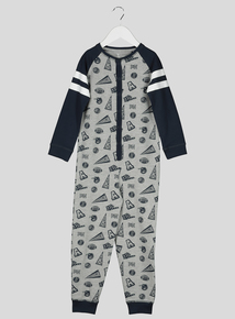 Grey Athletic All in One (2-12 Years)