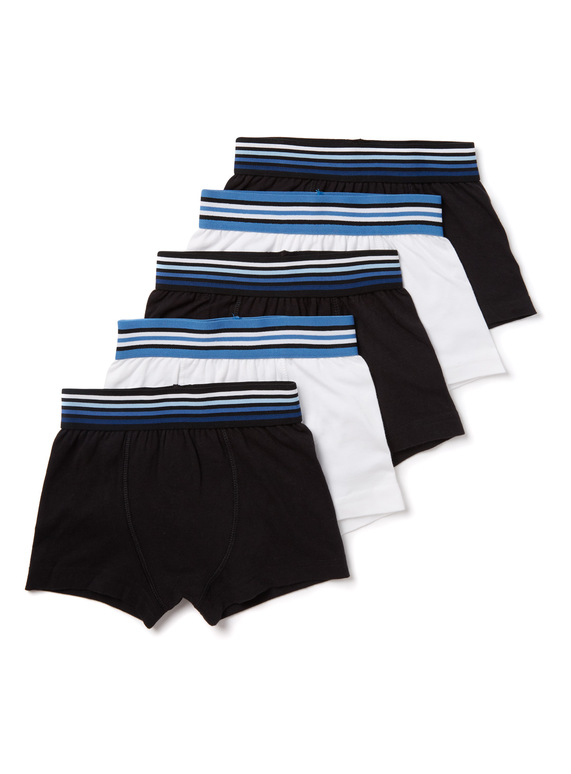 759b17c7df Kids 5 Pack Multicoloured Trunks (3-14 years) | Tu clothing