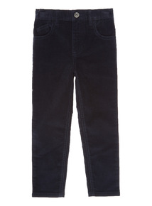 Navy Corduroy Trousers (3-12 years)