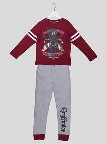 Harry Potter Quidditch Team Captain Pyjama Set (3-12 years)