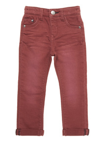 Red Loopback Trouser (9 months-6 years)
