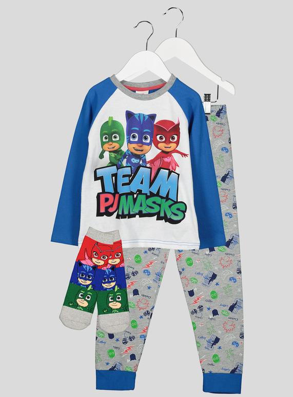 fbf5093c5 Kids Team PJ Masks Pyjama Set (1.5 - 7 Years)