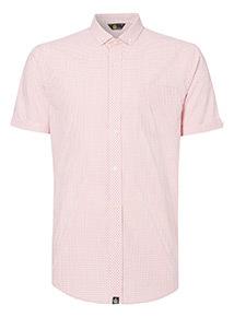 Admiral Pink Gingham Regular Fit Shirt