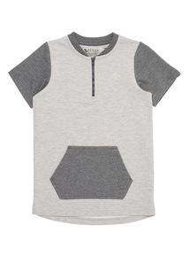 Boys Grey Sweat Top (3 - 14 years)