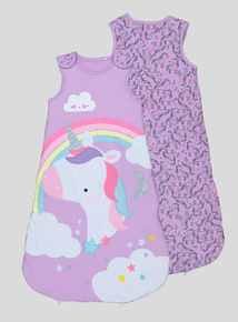 Lilac Unicorn Sleep Bag 2.5 Tog (0-24 months)