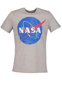 Nasa Grey Crew Neck T-Shirt