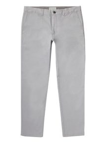 Grey Slim Stretch Chinos