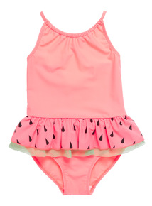 Multicoloured Watermelon Swimsuit (9 months - 6 years)