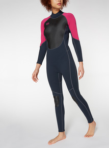 Multicoloured Colourblock Full Length Wetsuit
