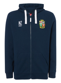 Online Exclusive Navy British & Irish Lions Rugby Hoodie