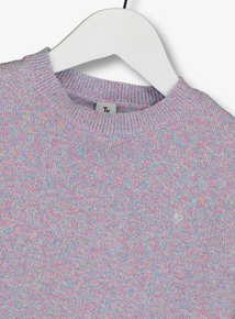Multicoloured Rainbow Sparkling Jumper (3-14 years)