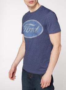 Blue Ford Print T-Shirt