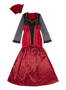 Adult Vampiress Witch Dress Costume