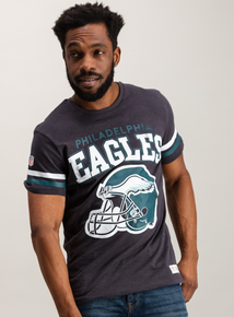 NFL Eagles Charcoal Short Sleeve T-Shirt
