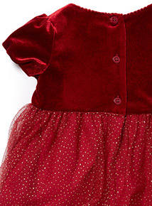 Red Occasion Dress (0-24 months)