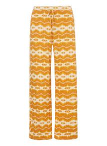 Yellow Ikat Pyjama Bottoms