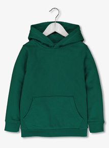 Green Cotton Rich Hoodie (3-14 Years)