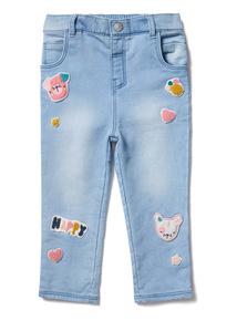 Denim Badged Jean (0-24 months)