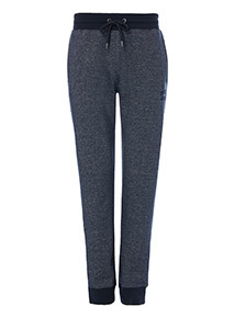 Onliine Exclusive Russell Athletic Navy Grindle Ribbed Jogger