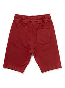 Burgundy Jersey Shorts (3-14 years)