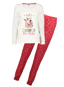 Christmas Boofle Long-Sleeved Pyjamas