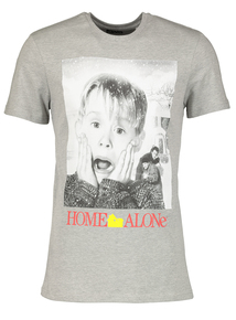 Online Exclusive 'Home Alone' Grey Christmas T-Shirt