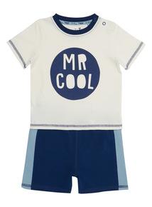 Multicoloured Mr Cool Jog Set (0 - 24 months)