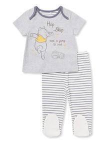 Multicoloured Disney Winnie The Pooh Pyjamas (0-24 months)