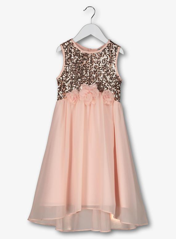 ddac843587 SKU: SS19 PINK BRIDESMAIDS DRESS:Pink