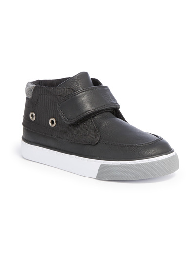 Velcro High Top Trainers (4 Infant - 4)