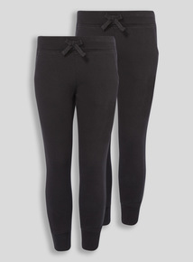 Black 2 Pack Jogger (3-16 years)