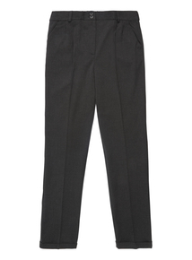Girls Grey Tapered Trousers (13-16 Years)