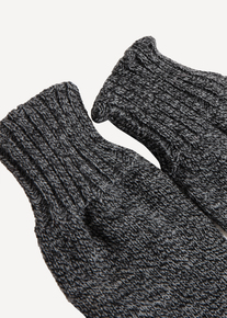 Charcoal Fingerless Gloves