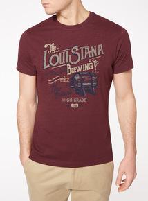 Dark Red Louisiana Brewing T-Shirt