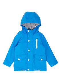 Boys Blue Fisherman Jacket (9 Months- 6 Years)