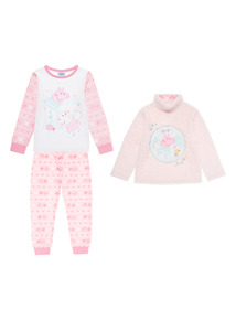 Kids Pink Peppa Pig Set