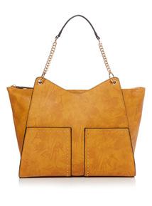 Floral Pattern Handheld Bag