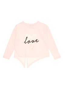 Pink Ballet Love Sweat (3-14 years)