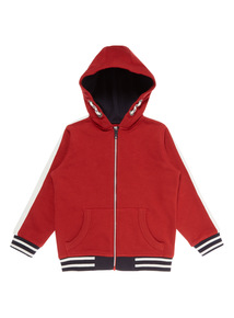 Boys Red Sporty Hoody (9 months - 6 years)