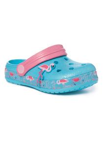 Glitter Flamingo Clogs