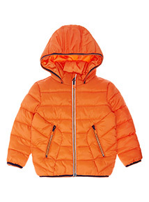 Orange Puffer Jacket (9 months-6 years)