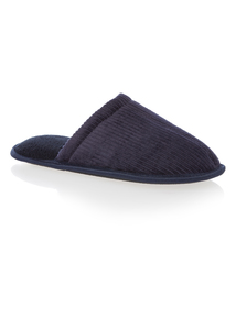 Navy Basic Mule Slipper