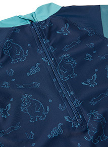 Navy Gruffalo Sunsafe Swimsuit (9 months - 5 years)