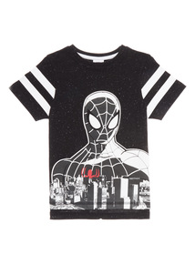 Black Spiderman T-Shirt (3 - 12 years)