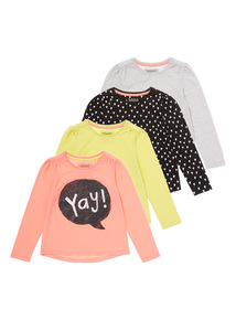 Playhouse Tops 4 Pack (0-24 months)