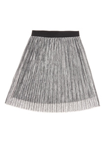 Grey Pleated Skirt (3-14 years)