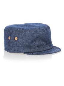 Boys Blue Baker Hat (0 - 24 months)