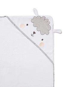 White Sheep Hooded Towel