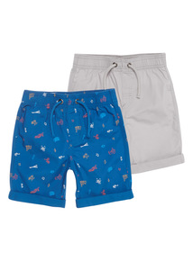 Boys Shorts 2 Pack (9 months - 6 years)